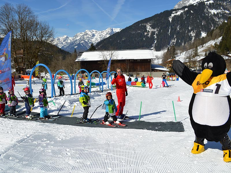 "The largest children's play area in all of Werfenweng ""BOBO PARK"" in the center of Kid´s Snowpark"
