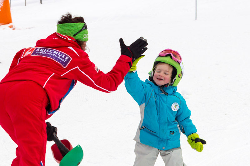 Kids' club with all nursery slopes and lifts in a central location