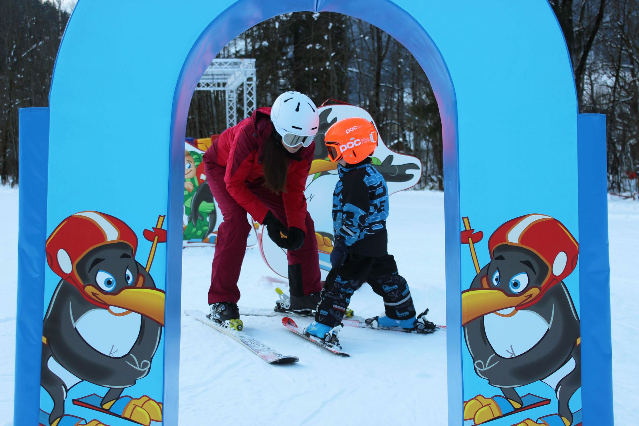 Ninja Warrior Track Kids Snowpark homepage
